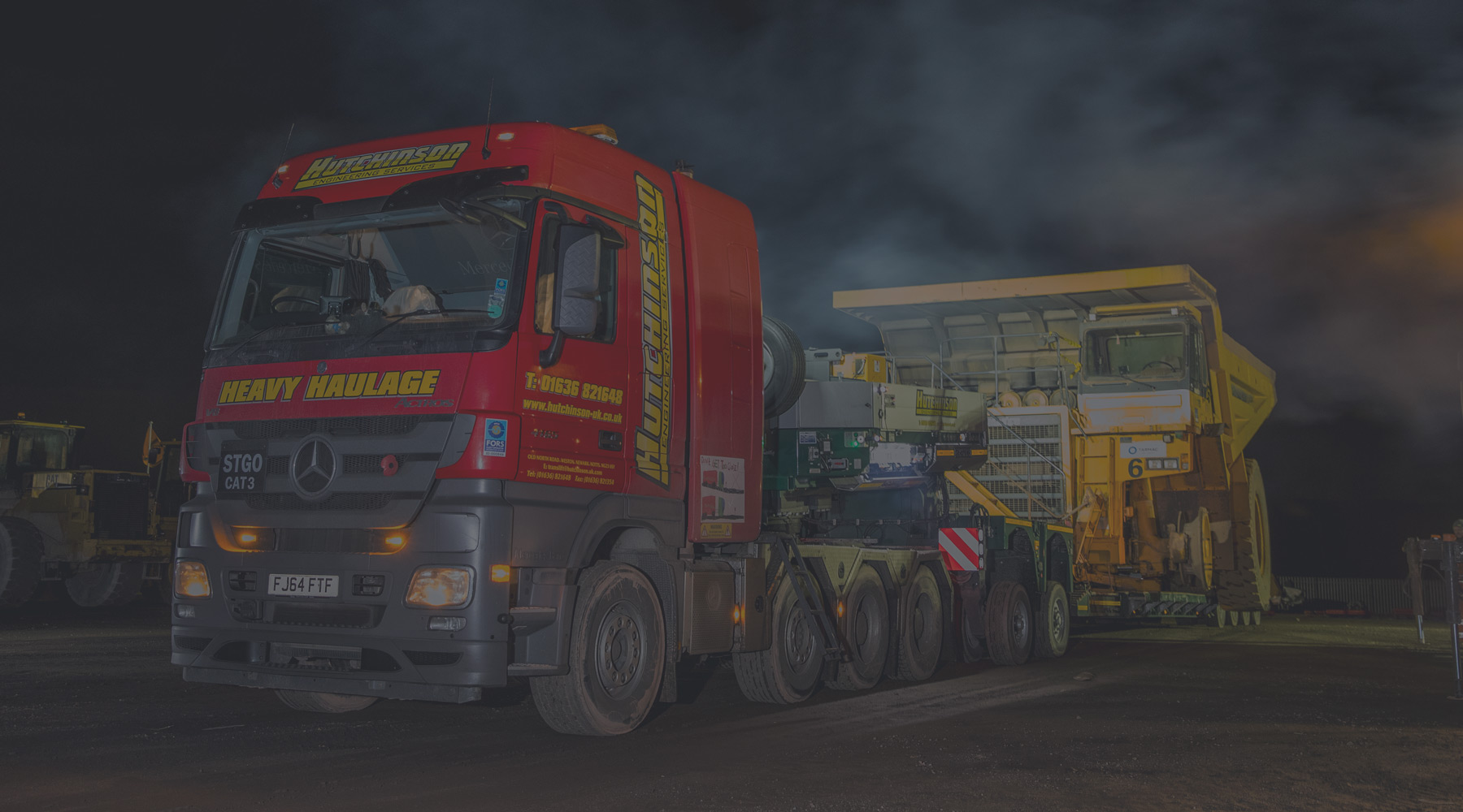 Hutchinsons Engineering Services Heavy Haulage