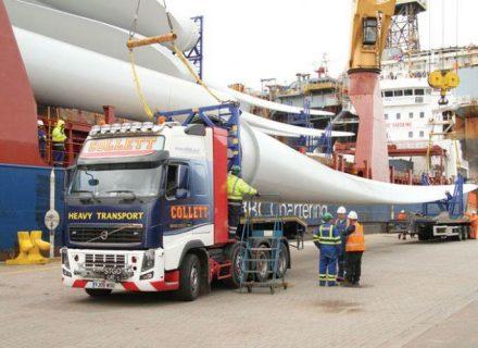 Collett & Sons Ltd First Projects Through Grangemouth Depot