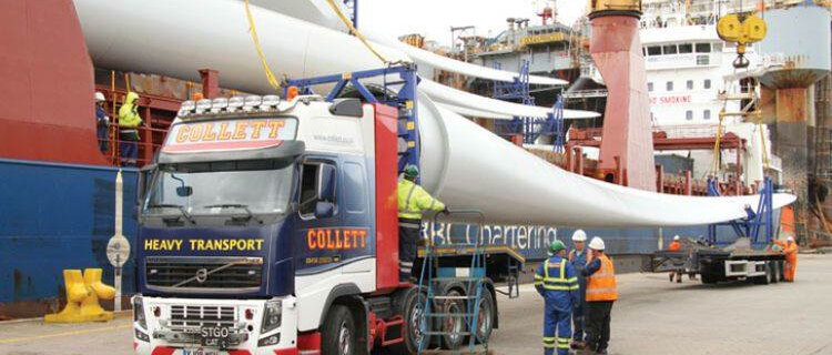 Collett & Sons Ltd First Projects Through Grangemouth Depot