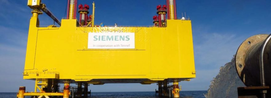 ALE Install 14,000 Tonne North Sea Offshore Platform