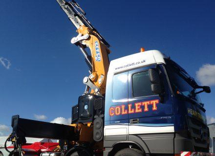 Collett Transport Acquire New Effer 205 Crane Vehicle