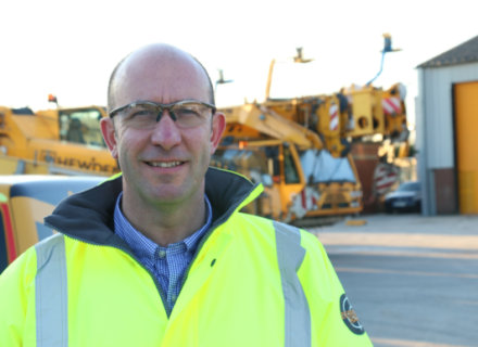 Adrian Murphy New Chief at Hewden