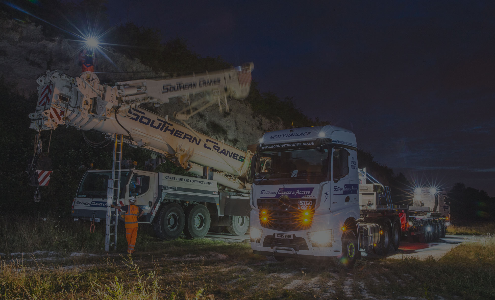 Southern Cranes Heavy Haulage