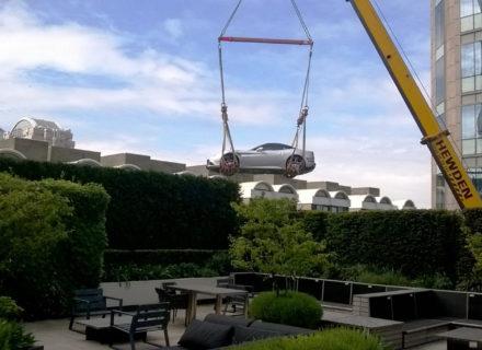Hewden London Ferrari Lift