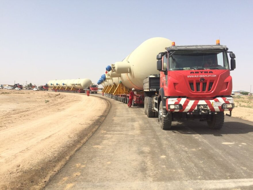 ALE Transport Reactor Across Iraq