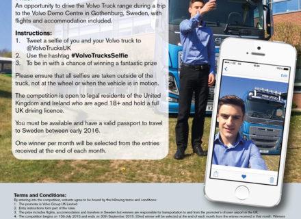 Volvo Trucks Launch Selfie Competition
