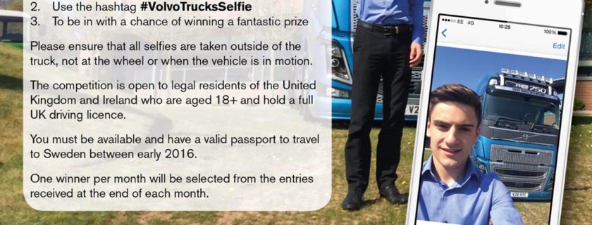 Volvo Trucks Launch Selfie Competition