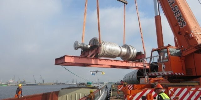 95T Gas Turbine for Abnormal Load Services