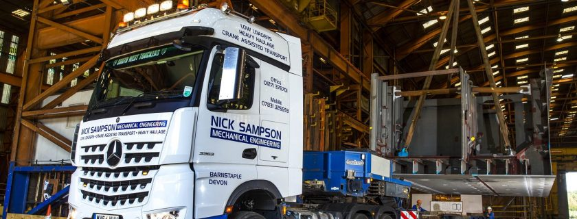 Nick Sampson Mercedes-Benz Arocs