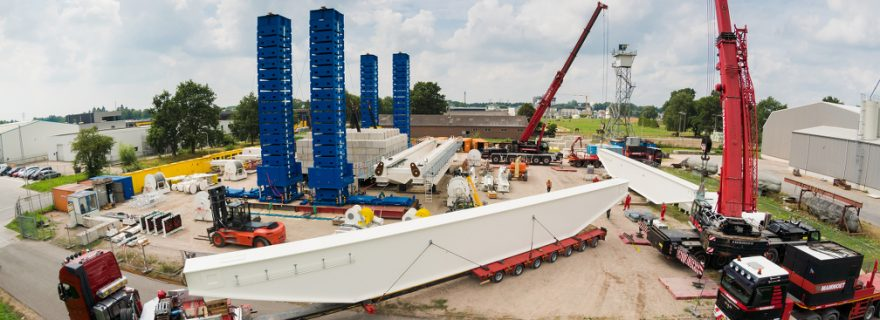 Enerpac Gantry Crane Transported to Poland