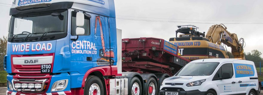 Central Demolition Celebrate Scotland's First DAF XF FTM 8x4
