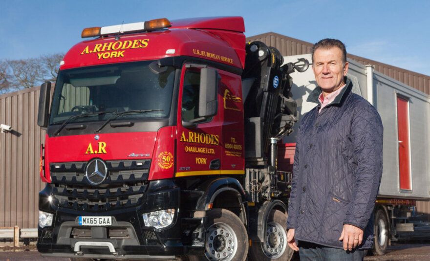 A Rhodes New Mercedes-Benz Arocs