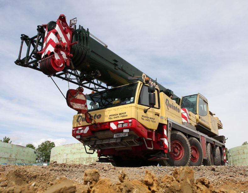 Quinto Cranes Ipswich Heavy Lift