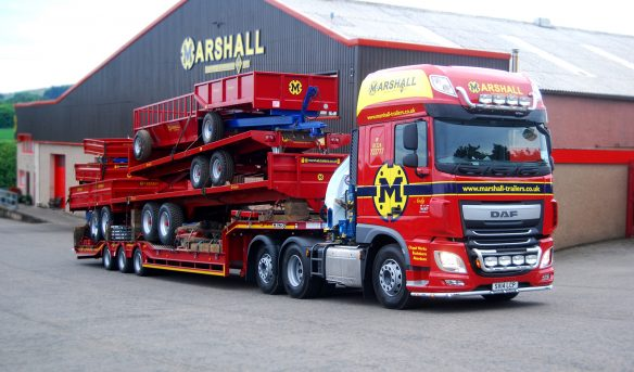 Marshall Trailers DAF