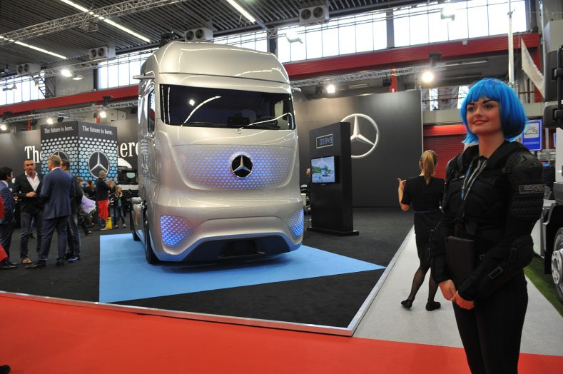 Mercedes Benz at RAI 2015