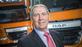 RAY ASHWORTH, DAF TRUCKS