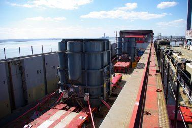 Wynns Limited Terra Marique RoRo Barge