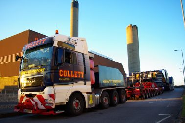 Collett Grider Bridge Transformer Transport