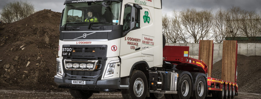 J O'Doherty Celebrates 30 Years with New Volvo FMX & FH 6x4