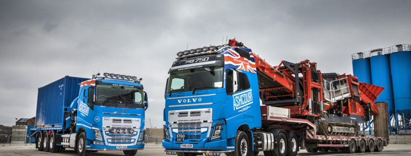 Volvo FH16-750 & FH Tridem for Ashcourt Contracts