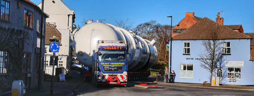 Collett & Sons 140 Tonne Vessel to Immingham