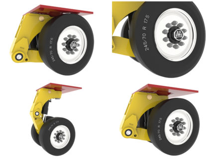 Broshuis Introduce Low Load Pendle Axle System