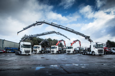 MV Commercial Crane Vehicles Fleet