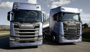 SCANIA: THE NEW R & S SERIES