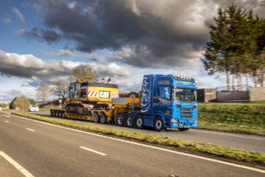DC Merrett, Scania S730 8x4, Faymonville, Specialist Transport, Dave Merrett, family company, R730 6x4, Scania Avonmouth, Nigel Jones,