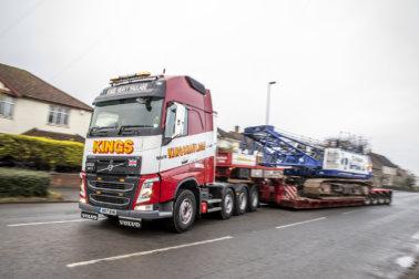 Kings Heavy Haulage, Super Truckers, golden jubilee, 50th anniversary, Volvo Trucks, Steve King, heavy haulage, specialist transport, FH540 8x4 tridem, palfinger cranes, Nooteboom, Broshuis, Andrew Upton, Mark Bartlett, ballast trailer