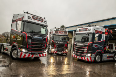 Smiths Heavy Haulage Scania Fleet