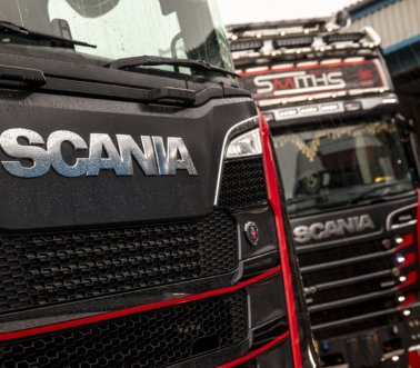 Smiths Heavy Haulage Scanias