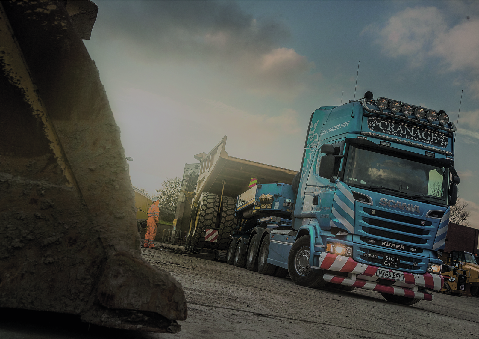 Cranage Heavy Haulage