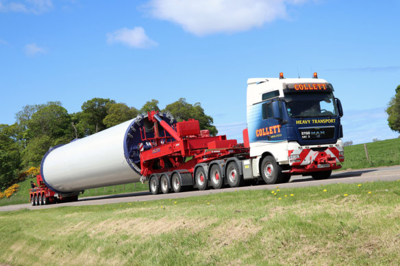 James Smith, Collett & Sons, MAN Trucks, heavy haulage,
