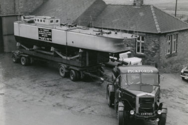 VIntage Heavy Haulage from Pickfords