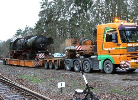 Van der Vlist: Steam locomotive lost track