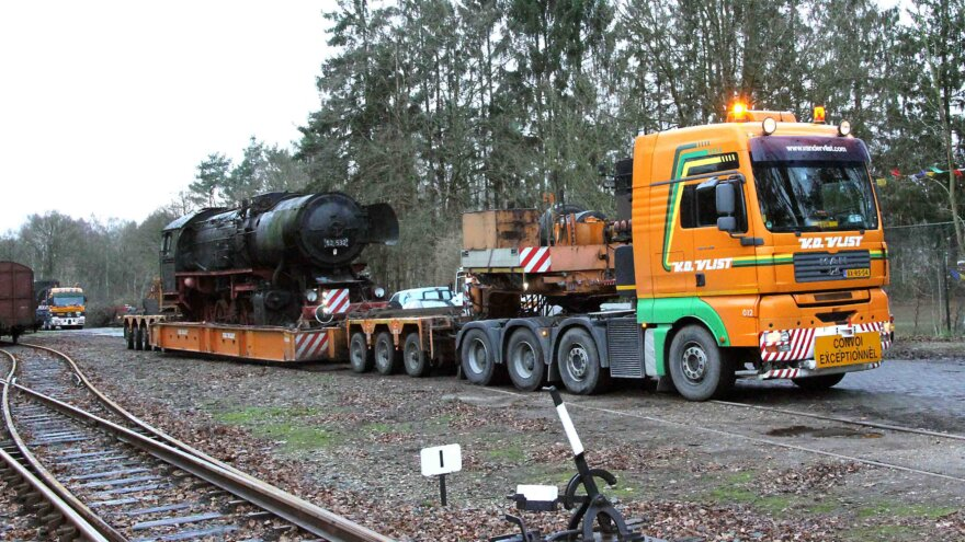 Van der Vlist: Steam locomotive lost track
