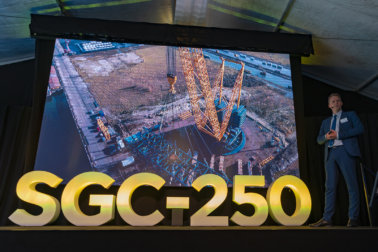 Sarens, SGC-250, Sarens SGC250, Ghent, Win Sarens, Carl Sarens, ring-based crane, worlds largest crane, Hinkley Point C