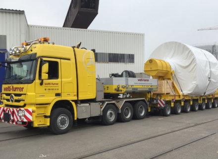Welti-Furrer Pneukran & Spezialtransport AG