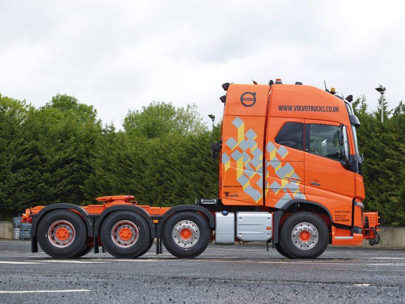 HeavyTorque: Volvo FH16 8x4 Tridem Demonstrator