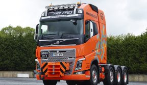 VOLVO TRUCKS: FH16 750 8x4 TRIDEM DEMONSTRATOR