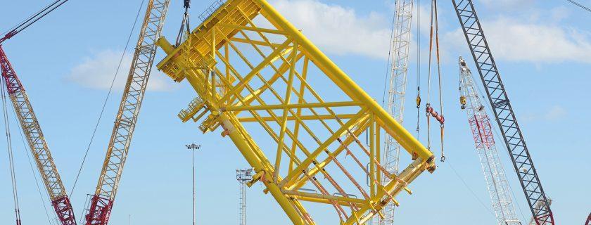AL.SK350 Inaugural Lift in Brazil