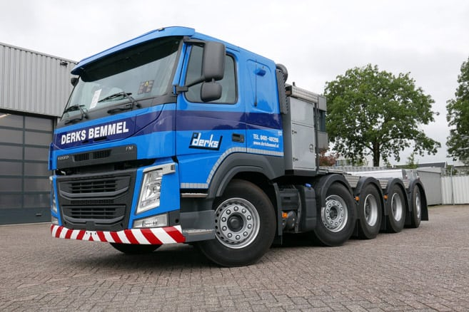 Terberg Techniek convert 10x4 tractor for Derks BV