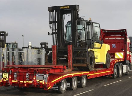 Truck Plant Services New Step-Frame from Andover Trailers