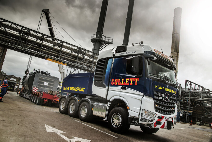 Collett Mercedes-Benz Arocs