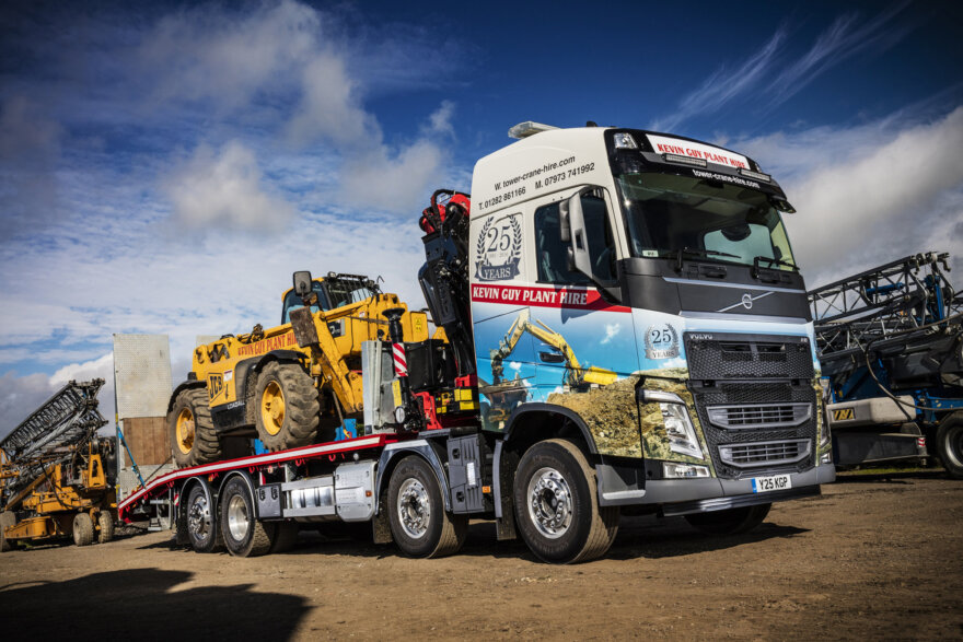 Kevin Guy Plant Hire Volvo
