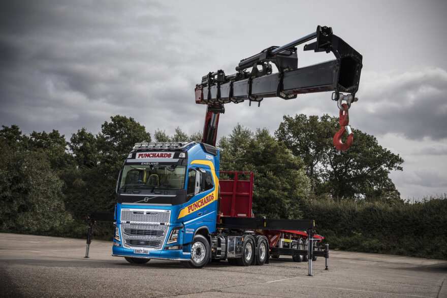 Punchards Volvo FH16-750