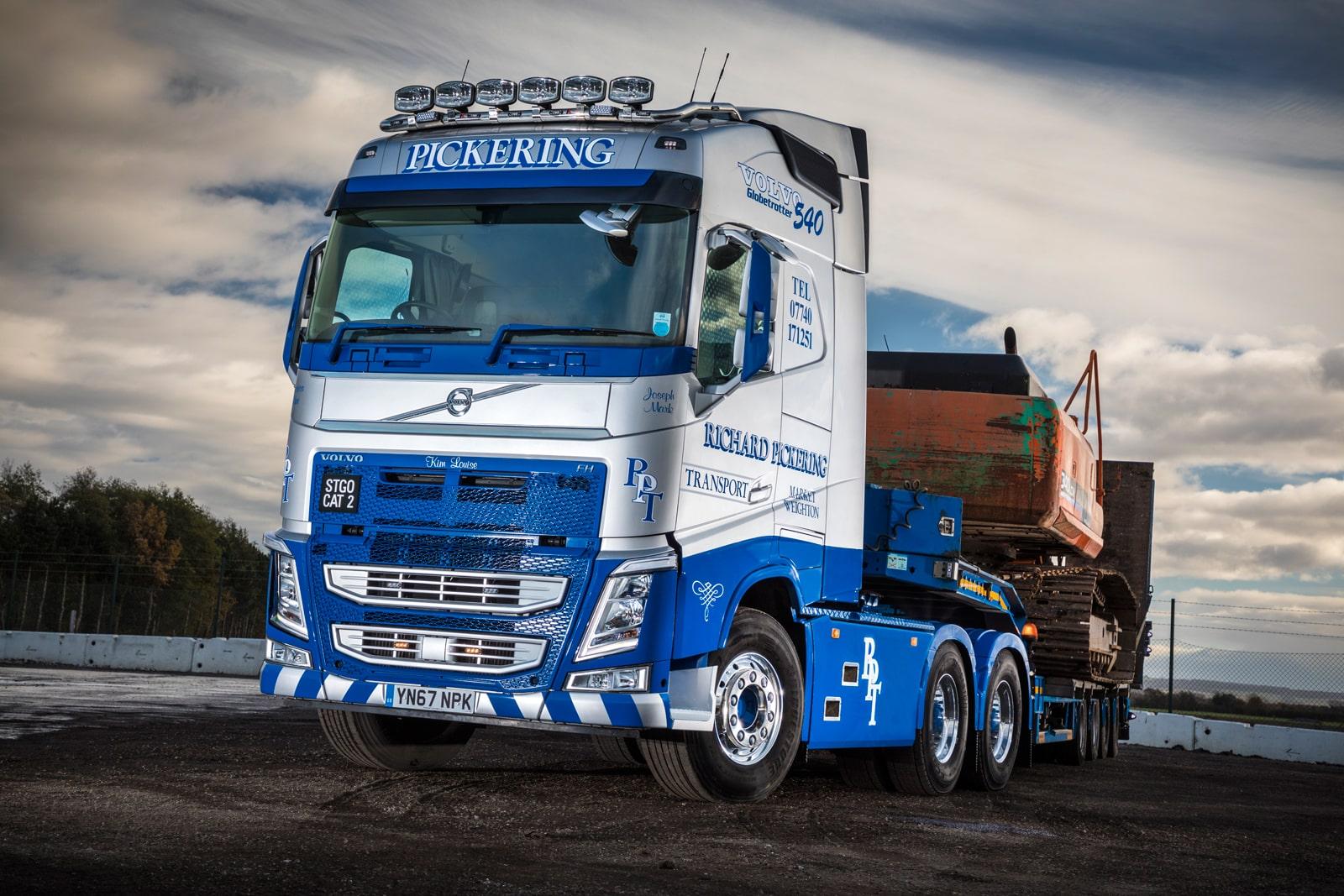 Volvo Trucks work in tandem with Pickering Transport ...