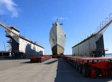 Ex-HMAS Sydney Makes Last Trip