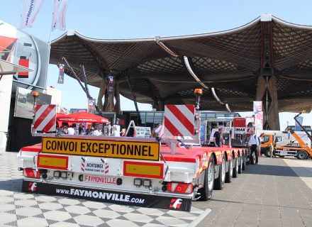 Faymonville Presents Successful Semi-Trailers